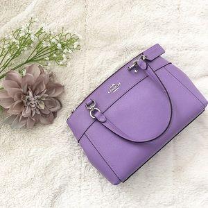 Coach Mini Brooke Carryall in Purple